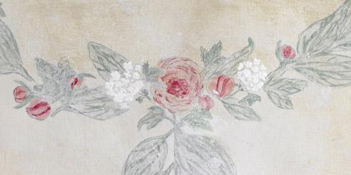 Florale Tapetenmotive