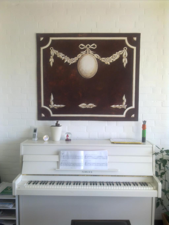 medaillon jadis tapeterie. Black Bedroom Furniture Sets. Home Design Ideas